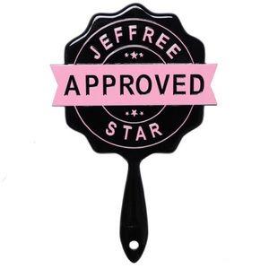 Jeffree Star Black & Pink Approved Stamp Mirror